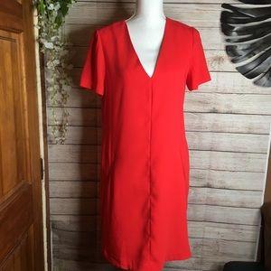 Banana Republic red dress size 10